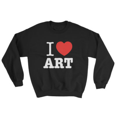 I Love ART Sweatshirt