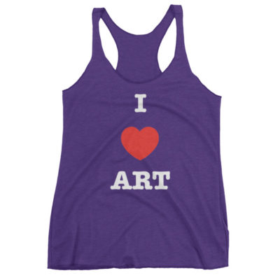 I Love ART Women's tank top